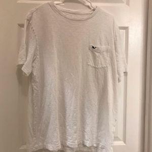 Vineyard Vines White T-shirt with pocket